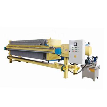 Filter press for sludge dry