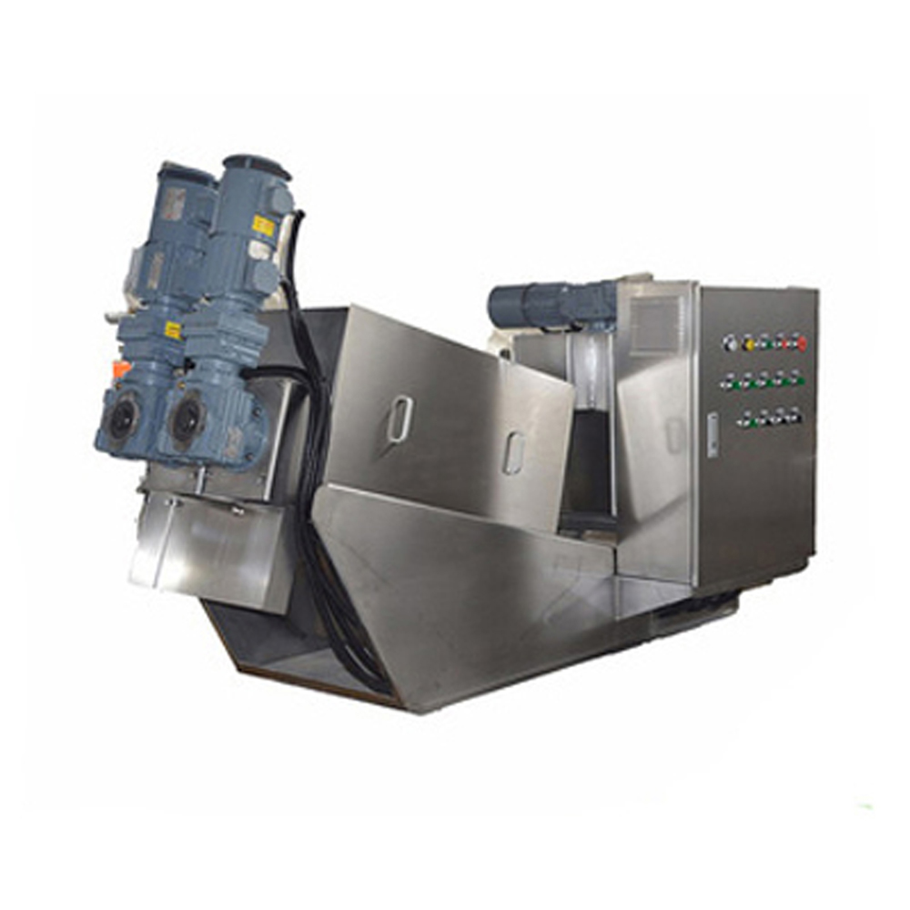 Sludge Drying Screw Press